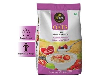 Disano High in Protein and Fibre Oats Pouch, 1 kg at Just Rs.125
